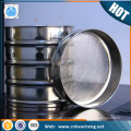 4 mesh stainless steel sieve for analysis particle size distribution