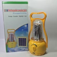 Lanterne solaire à LED d'urgence à grande efficacité pour camping extérieur