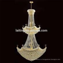 Guzhen освещения китайского лобби хрустальные потолочные люстра подвеска лампа для проекта гостиницы 62037