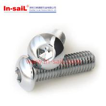 Vis à capuchon à tête bouton fournisseur 2016 de Shenzhen en fabricant SS