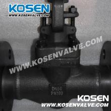 Válvulas de globo de acero forjado bridado (J41H)