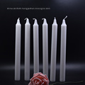Romantic Wedding Decorative Wax White Candle
