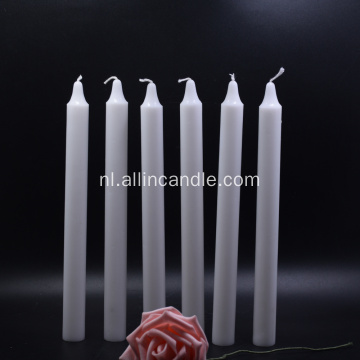 Tamar Burning White Wax Candle