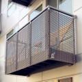Steel Grid Balcony Fence