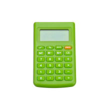8 Digital Small Pocket Calculatrice colorée