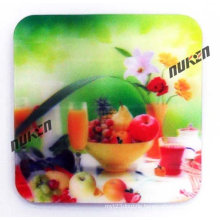 2015 New Design Lenticular Cup Coasters for Gift