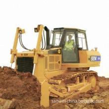 Crawler bulldozer with shovel capacity of 4.27m³, width of shovel is 3,140mm