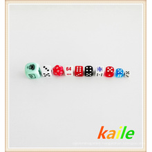 Colorful game dice