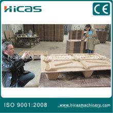 Qingdao Machine de palette en bois comprimé automatique faisant ligne de fabrication