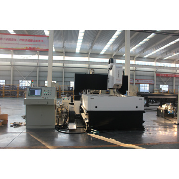 Tugas Berat CNC Gantry Steel Plat Drilling Machine