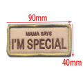 Special Embroidery Fabric Tactical Badge Cloth Label