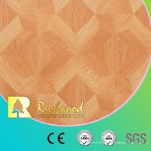 12,3 mm E0 AC4 geprägte Nussbaum Eiche schallabsorbierend laminierten Holzboden