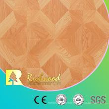 12.3mm E0 AC4 Embossed Walnut Oak Sound Absorbing Laminated Wooden Flooring