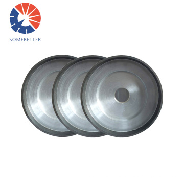 Flat Shape Wholesale Price Electroplated Customized Cbn Wheels For High Speed Steel Cupshaped Diamond Contact Wheel Grinding