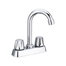 2021 best contemporary South Amercian style faucet/mixer, durable 4inch Basin mixer, Double handle basin faucets