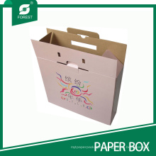 Pink Printed Corrugated Carton Box for Packaging