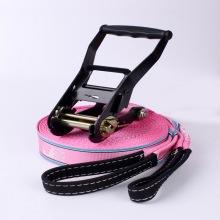 """Zapatillas Slackline de fábrica de 2 """"de plástico negro y manija fácil 6600LBS"""