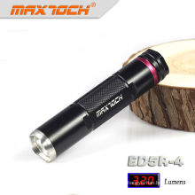 Maxtoch ED5R-4 Aluminum Mini Mount Torch Police 3w Flashlight