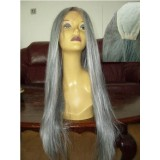 Hot Anime Charactor Cosplay Wig/ Long Silver Halloween Party Wig