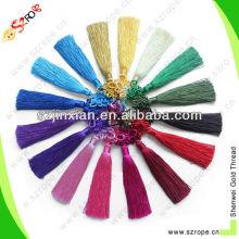 colorful rayon mini tassels,tassel,rayon thread tassel