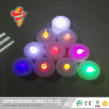 Flameless 차 촛불 LED Tealight 깜박임