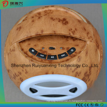 Haut-parleur Bluetooth rétro haute qualité Bowling Design