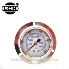 different types of screw type pressure gauge types