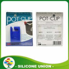 Hot-sale Silicone Spoon Holder Pot Lid Clip