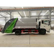 Nuevo vehículo de recolección de residuos Dongfeng 180hp 12cbm