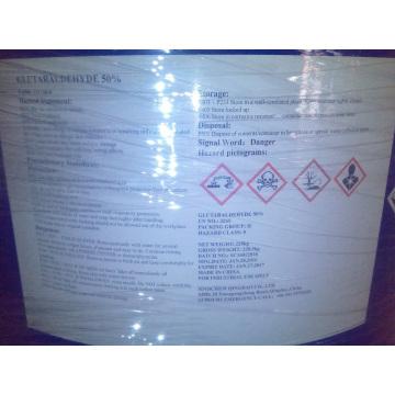 Glutaraldehído 50% grado técnico y grado farmacéutico