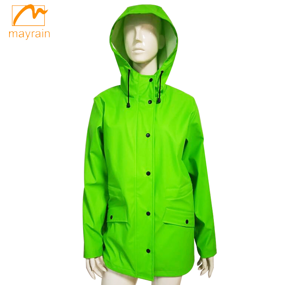 Green Pu Jacket1