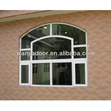 cadre en bois verre fixe / fenêtre fixe en pvc / guangzhou