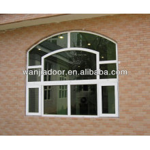 frame de madeira janelas de vidro fixo / pvc janela fixa / guangzhou
