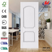 JHK-S03 Besonders 3.5MM Modell glatte Oberfläche weiße Grundierung Tür Haut im Hotel verwendet