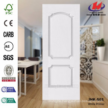 JHK-S03 Particularly 3.5MM model smooth surface white primer door skin used in hotel