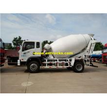SINOTRUK 5 M3 Concrete Mixing Vehicles