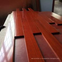 Матовая плоская UV Отлакированный Проектированный деревянный настил Бальзамо