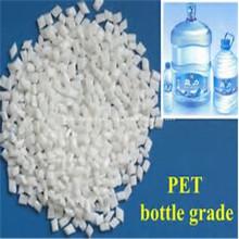 Escamas de PET de botella lavada en caliente transparente