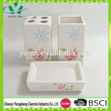 Ensemble d'accessoires de salle de bain rose bon marché en 2014 en Chine
