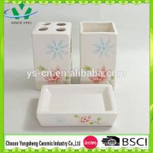 2014 China Acessórios de banheiro rosa baratos Set