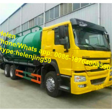 6X4 20000 Liters Vacuum Sewage Suction Truck
