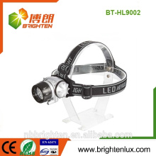 Professional Factory Hot Wholesale ABS plastique à longue portée mult-function 3 * AAA led headlamp manufacturers