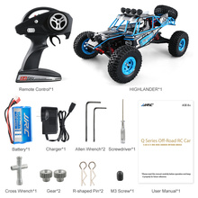 Race car JJRC Q39 RC Car 1:12 Electric 2.4G 4WD 40KM/H Highlander Short-Course Remote Control Cars Toy Off-Road Vehicle