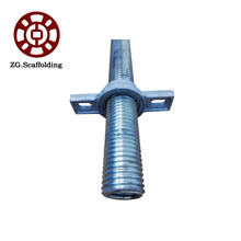 Scaffolding  adjustable Support Screw Hollow Base Jack