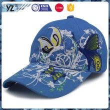 Latest product custom design 6 panel baseball cap for advertising wholesale price