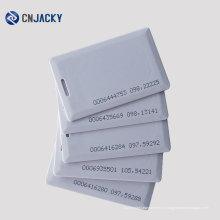 ID карточки пустой смарт-карты пустой подарочная карта