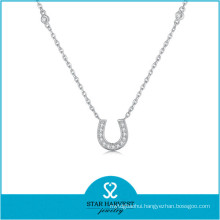 Popular Dubai Gold Plating Jewelry Set of Horseshoe Necklace (J-0235N)