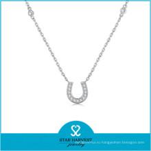 Популярных в Дубае Золотое покрытие комплект ювелирных изделий ожерелье Подкова (Джей-0235N)
