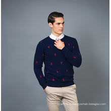 Мужская мода кашемировый свитер 17brpv128