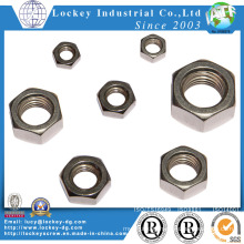 A4-50 Hex Thin Nut Passivated